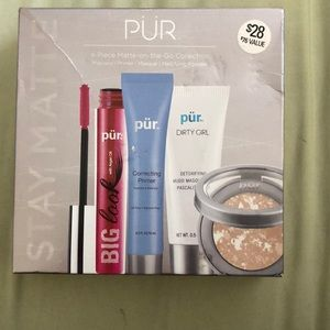 Pur 4 Piece Matte on the Go Collection New in Box